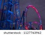Amusement Park Rollercoaster...