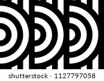 seamless pattern with circles... | Shutterstock .eps vector #1127797058