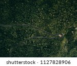 forest mountain road   aerial... | Shutterstock . vector #1127828906