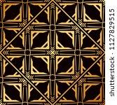 art deco pattern. seamless... | Shutterstock .eps vector #1127829515