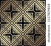 art deco pattern. seamless... | Shutterstock .eps vector #1127829818