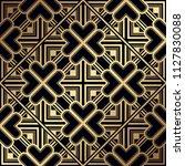 art deco pattern. seamless... | Shutterstock .eps vector #1127830088