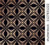 art deco pattern. seamless... | Shutterstock .eps vector #1127831222