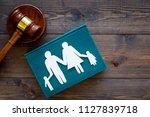 family law  family right... | Shutterstock . vector #1127839718