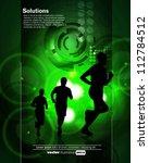 sport illustration   Shutterstock .eps vector #112784512
