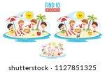 vector illustration of ten... | Shutterstock .eps vector #1127851325