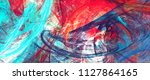 bright artistic splashes.... | Shutterstock . vector #1127864165