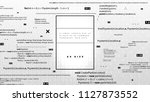programming application...   Shutterstock .eps vector #1127873552