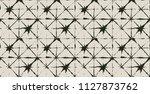 black  gray kimono texture... | Shutterstock .eps vector #1127873762