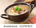 bean soup | Shutterstock . vector #112787815