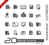 book icons    basics series | Shutterstock .eps vector #112788262