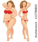 adults,background,beautiful,big,black,body,bra,cartoon,changing,character,comic,competition,concern,diet,dieting