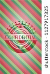 confidential christmas colors... | Shutterstock .eps vector #1127917325