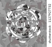 facility on grey camo pattern   Shutterstock .eps vector #1127927732