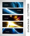 abstract various bright... | Shutterstock .eps vector #112792888