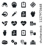 set of vector isolated black... | Shutterstock .eps vector #1127973668
