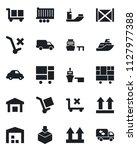 set of vector isolated black...   Shutterstock .eps vector #1127977388
