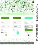 light green vector material...   Shutterstock .eps vector #1128001742