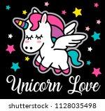 unicorn vector design. unicorn...   Shutterstock .eps vector #1128035498