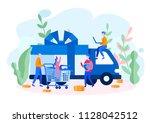 vector flat illustration... | Shutterstock .eps vector #1128042512