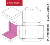 packaging for  fast food. | Shutterstock .eps vector #1128060815