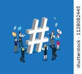 business technology internet... | Shutterstock .eps vector #1128082445