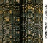 art abstract geometric texture...   Shutterstock . vector #112808932