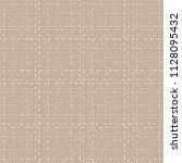 rough tartan fabric. tweed... | Shutterstock .eps vector #1128095432