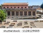 tarragona spain june 26 2016 ... | Shutterstock . vector #1128129005
