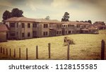 panoramic shot of the carlos... | Shutterstock . vector #1128155585