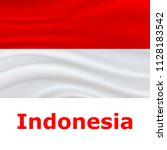 17 august  indonesia... | Shutterstock .eps vector #1128183542
