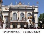 figueres spain jun 2012 ...   Shutterstock . vector #1128205325