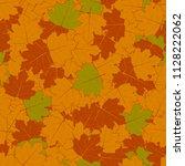 illustration. autumn background.... | Shutterstock . vector #1128222062