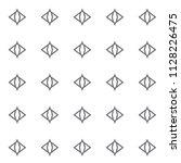 geometric ornamental vector... | Shutterstock .eps vector #1128226475