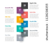 vector infographic label design ... | Shutterstock .eps vector #1128238355