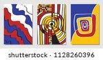 cover design templates set in... | Shutterstock .eps vector #1128260396