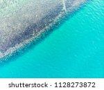 beautiful sea and ocean water... | Shutterstock . vector #1128273872