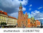 wroclaw poland   2 july 2018 ... | Shutterstock . vector #1128287702