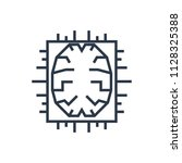 artificial intelligence icon....