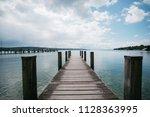 lake starnberger see bavaria ...   Shutterstock . vector #1128363995