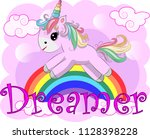 unicorn vector illustration...   Shutterstock .eps vector #1128398228