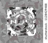index on grey camo texture | Shutterstock .eps vector #1128429488
