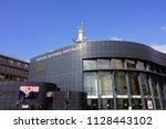 rennes  france  1 jul 2018 ... | Shutterstock . vector #1128443102