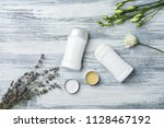 flat lay composition with... | Shutterstock . vector #1128467192