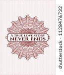 red passport money style... | Shutterstock .eps vector #1128476732
