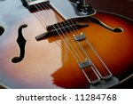 classic vintage hollow body... | Shutterstock . vector #11284768