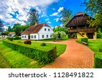 scenic view at picturesque... | Shutterstock . vector #1128491822