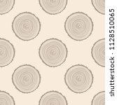 tree rings seamless pattern.... | Shutterstock . vector #1128510065