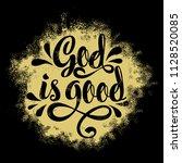 bible lettering. christian... | Shutterstock .eps vector #1128520085