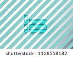 aqua color list icon on the...
